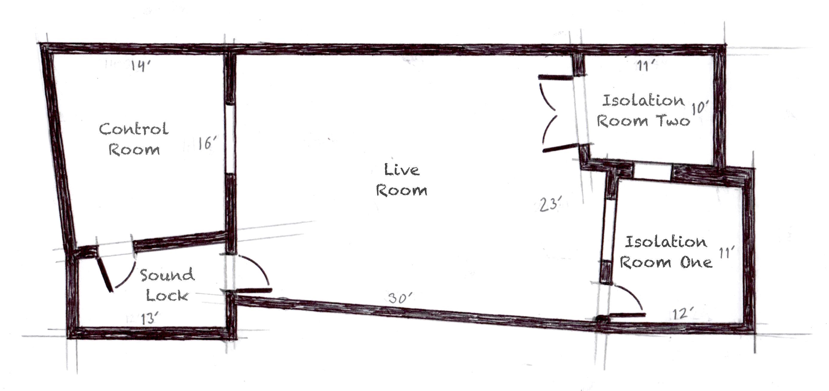 Old House Studio Map